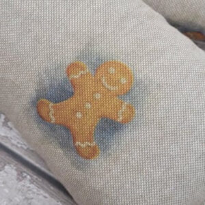 Christmas Gingerbread Man Extra Large Wheat Bag